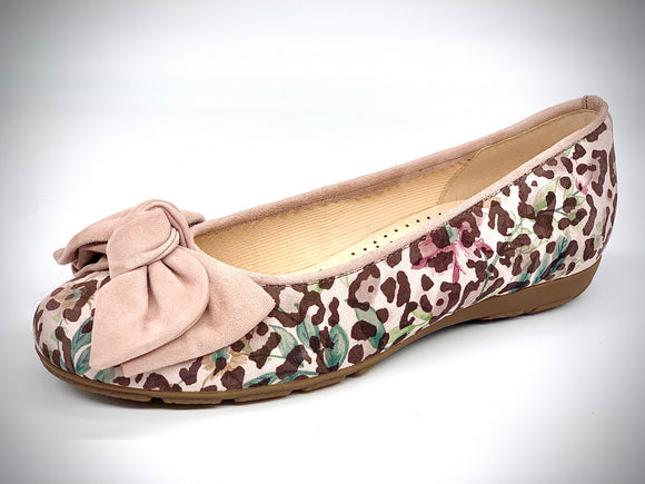 Monty Rose Animal Print Pump by Gabor
