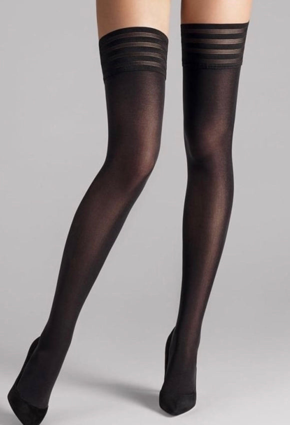 Velvet DeLuxe 50 StayUps by Wolford