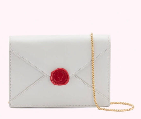 Love Letters Medium Laura in Oyster by Lulu Guinness