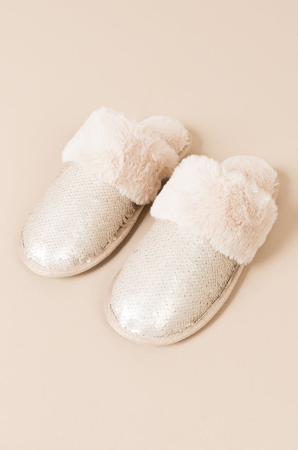 Kasha Slippers Gold By Pia Rossini