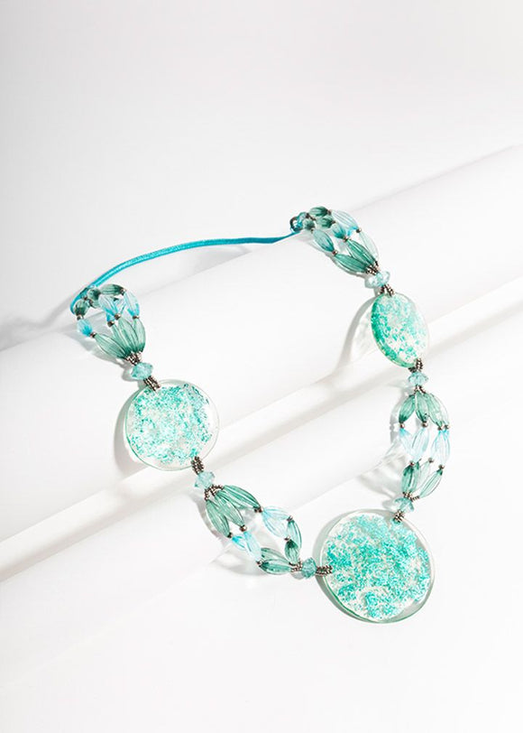 Kira Necklace Sea Blue
