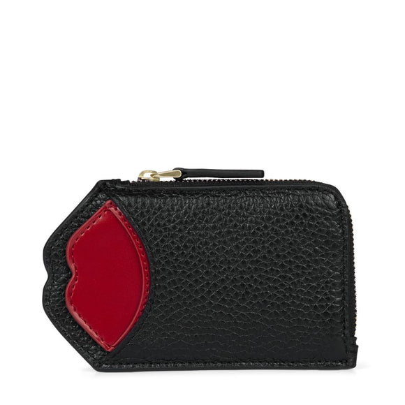 Pop Out LILIANA in Black/red by Lulu Guinness
