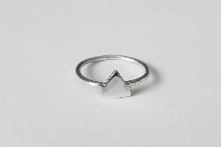 Solid Triangle stacking ring