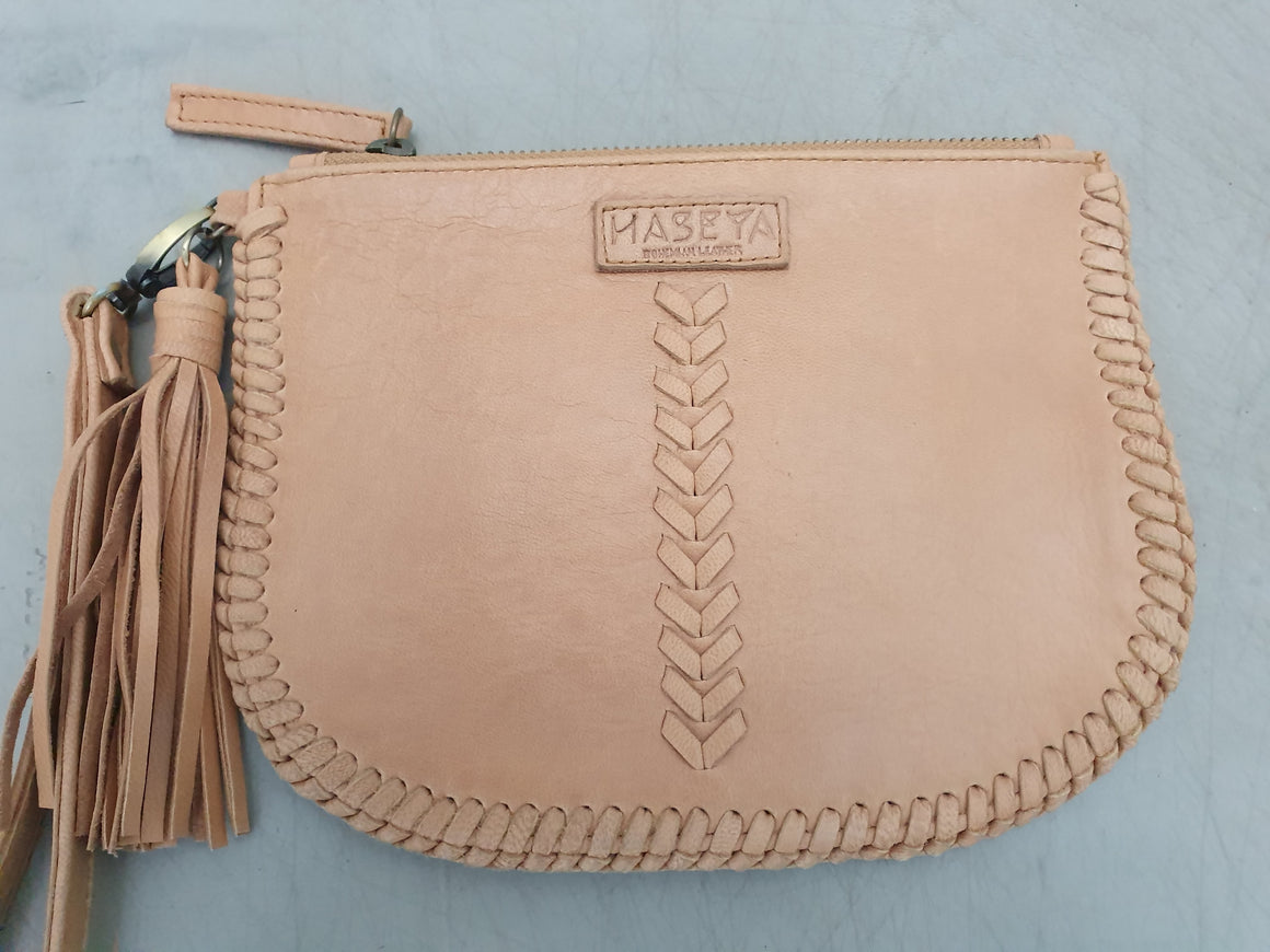 Sample Sale - Coin Purse Light Tan