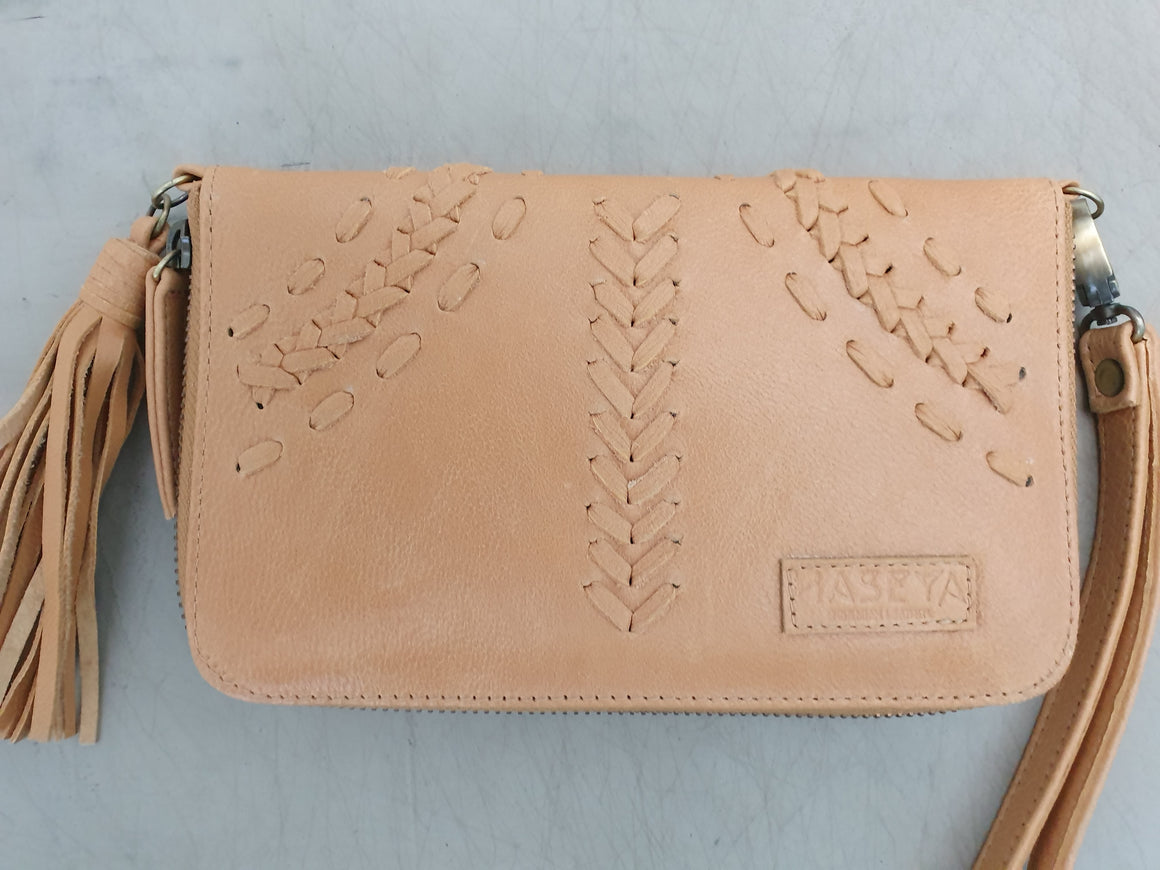 Sample Sale - Cabo Wallet Light Tan