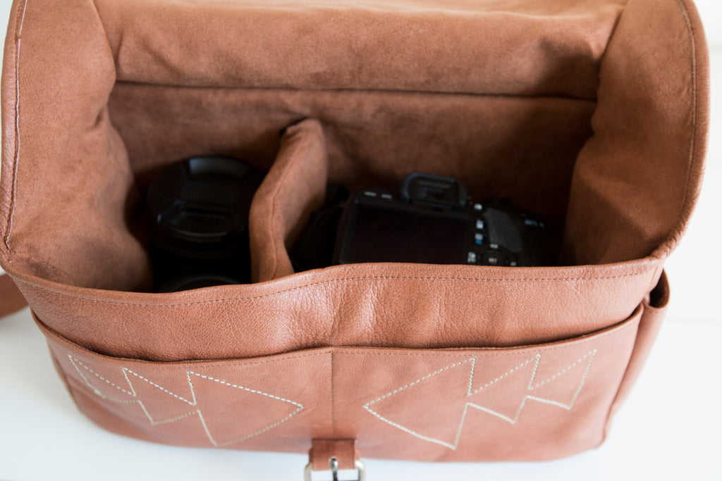 Haseya Camera Bag Tan