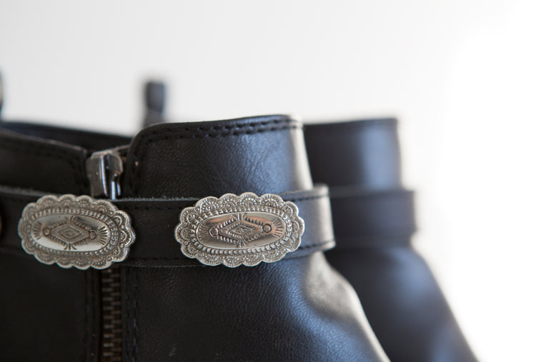 Conchos for Desert Rose Boot Belt