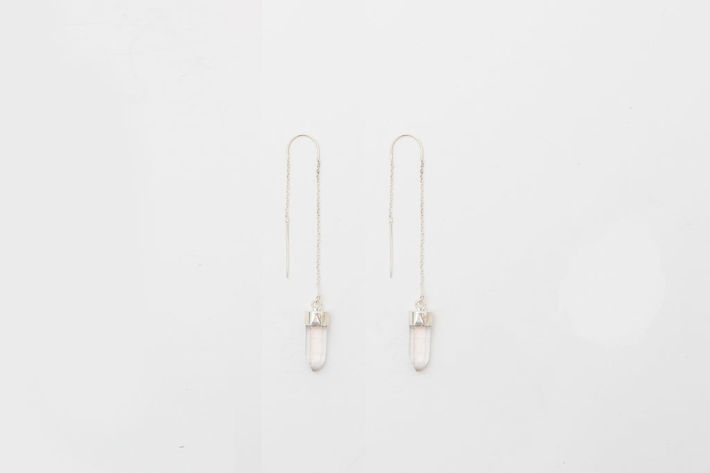 Crystal Dreams Thread Earrings