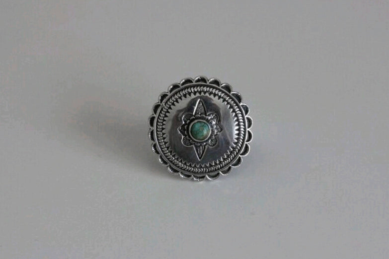 Western Concho Ring