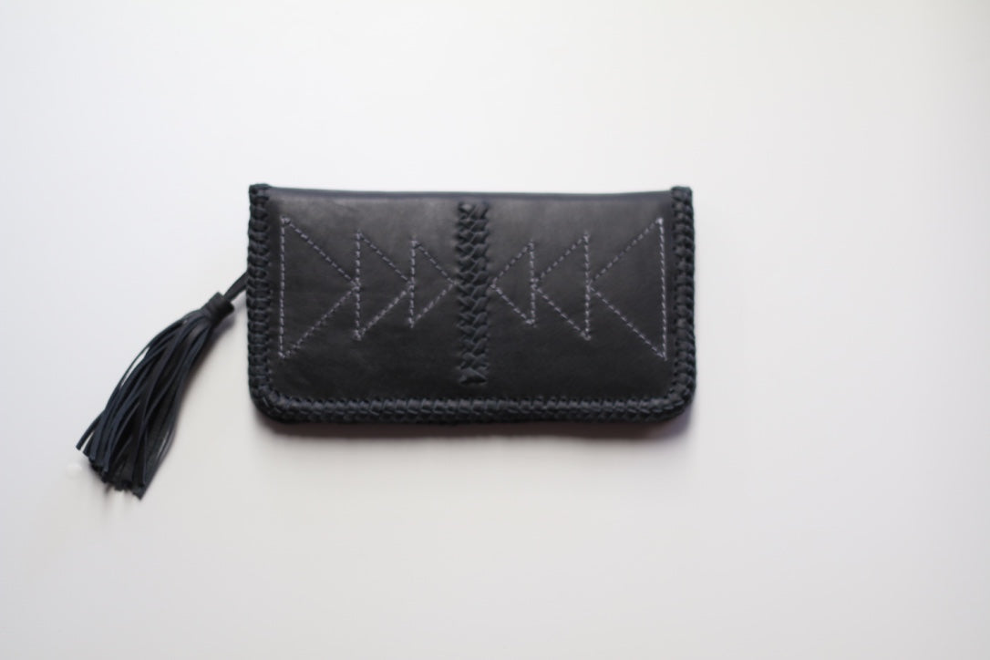 Wolf Dancer Wallet Black