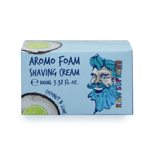 Raw Supremo Shaving Cream 100ml - Aromo Foam