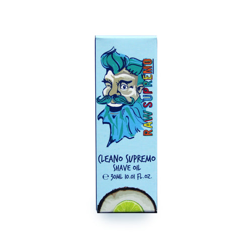 Raw Supremo Shaving Oil 30ml - Cleano Supremo