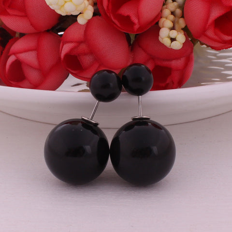 Matte ball Oorbellen - Piercings4you