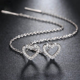 Twisted hearts Oorbellen - Piercings4you