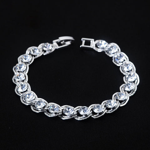 Silver chains Armband - Piercings4you