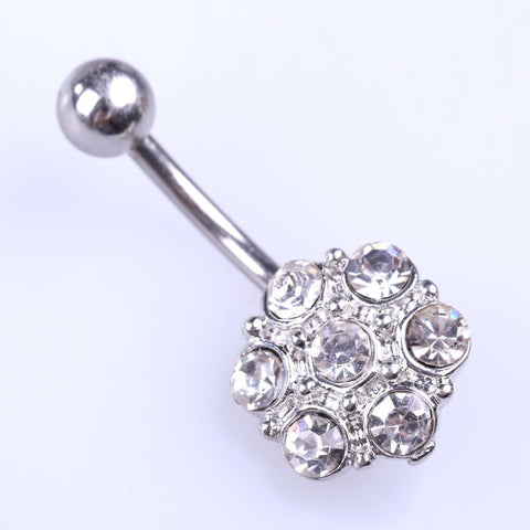 Bright sparkle Navelpiercing - Piercings4you