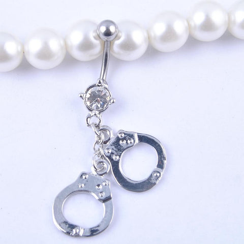 Handcuffs Navelpiercing - Piercings4you