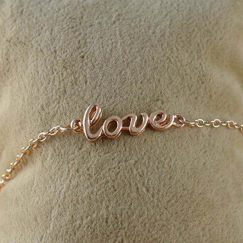 Love chain Enkelband - Piercings4you