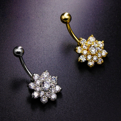 Sparkling blossom Navelpiercing - Piercings4you