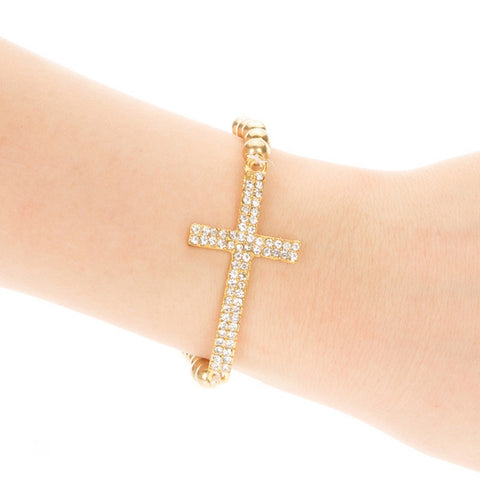 Shining cross Armband - Piercings4you