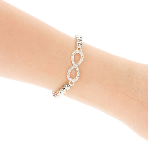 Shining infinity Armband - Piercings4you