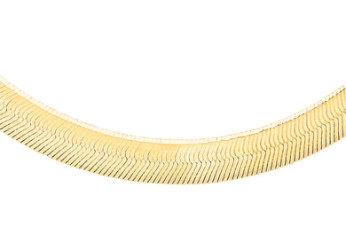 9ct Yellow Gold 35pg Herringbone Chain