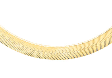 9ct Yellow Gold 60pg Herringbone Chain