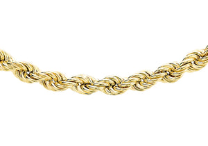 9ct Yellow Gold 70pg Rope Chain
