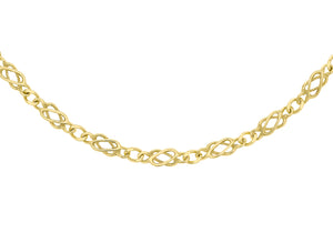 9ct Yellow Gold 70pg Celtic Chain
