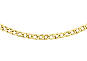 9ct Yellow Gold 60pg Curb Chain