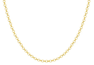 9ct Yellow Gold 160pg Round Belcher Chain