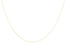 9ct Yellow Gold 10pg Mirror Box Chain