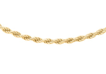 9ct Yellow Gold 30pg Rope Chain