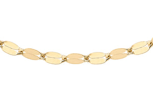9ct Yellow Gold Forzatina Chain