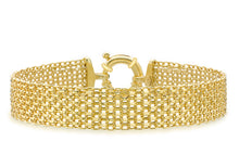 9ct Yellow Gold Bismark Bracelet