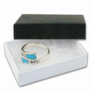 Little Black Gift Box - Ideal for Charms, Pendants, Beads & Body Jewellery - Queen of Silver