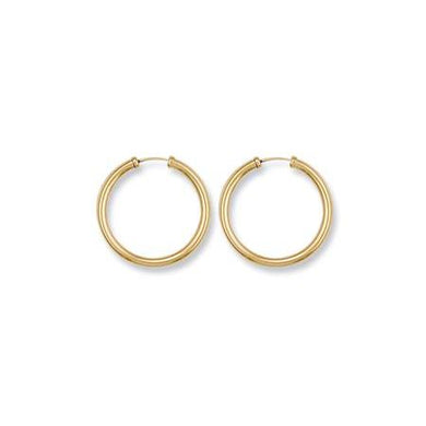 9ct Yellow Gold Caped Sleepers - Queen of Silver