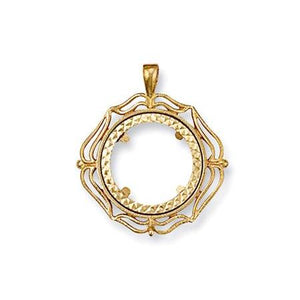 9ct gold sovereign pendants queen of silver 9ct yellow gold full fancy sovereign pendant queen of silver aloadofball Images