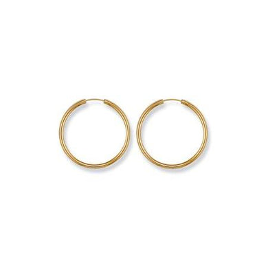 9ct Yellow Gold Sleepers - Queen of Silver