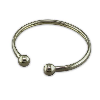 Sterling Silver Baby Torc Bangle