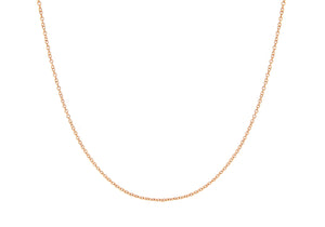 9ct Red Gold 40pg Trace Chain