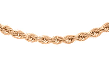 9ct Rose Gold 040pg Rope Chain
