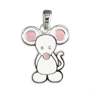 Sterling Silver Pippa Mouse Pendant