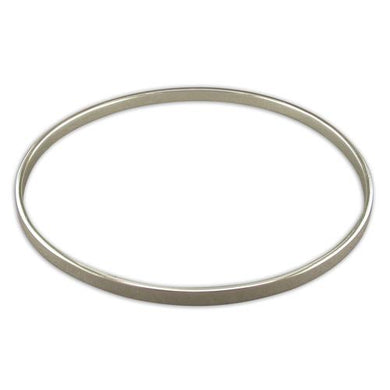 Sterling Silver Thin Plain Slave Bangle