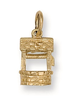 9ct Yellow Gold Well Pendant - Queen of Silver