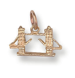 9ct Yellow Gold London Bridge Pendant - Queen of Silver