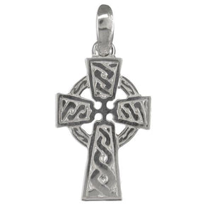 Sterling Silver Heavy Celtic Cross