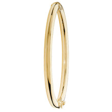 9ct Yellow Gold Ladies' Hinged Bangle