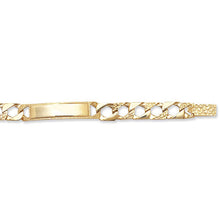 9ct Yellow Gold Babies' 5.5 Inches Cast Id Bracelet