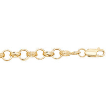 9ct Yellow Gold Babies' Bracelet